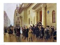 Leaving the Lycee Condorcet, 1903 Fine-Art Print