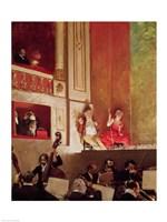 Revue at the Theatre des Varietes Fine-Art Print