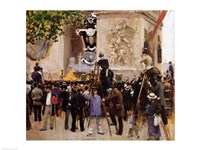The Funeral of Victor Hugo Fine-Art Print