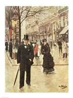 On the Boulevard Fine-Art Print