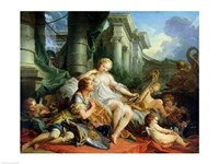 Rinaldo and Armida, 1733 Fine-Art Print