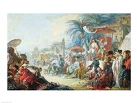 The Chinese Fair, c.1742 Fine-Art Print
