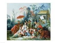 The Chinese Garden, c.1742 Fine-Art Print