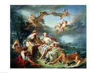 The Rape of Europa, 1747 Fine-Art Print