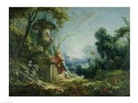 Pastoral Scene Fine-Art Print