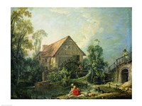 The Mill, 1751 Fine-Art Print