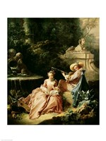 The Music Lesson, 1749 Fine-Art Print