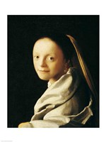 Portrait of a Young Woman Fine-Art Print
