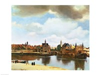 View of Delft Fine-Art Print