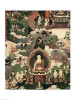 Life of Buddha Sakymuni Fine-Art Print