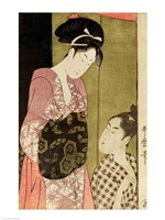 A Man Painting a Woman Fine-Art Print