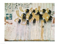 Weeping Women in a Funeral Procession Fine-Art Print
