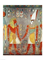Relief depicting Horemheb Fine-Art Print