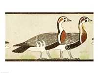 Geese, from the Tomb of Nefermaat and Atet, Old Kingdom Fine-Art Print