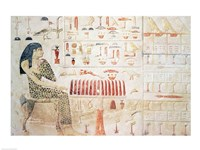 Stela of Princess Nefertiabet Fine-Art Print