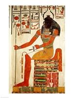 The god, Khepri Fine-Art Print