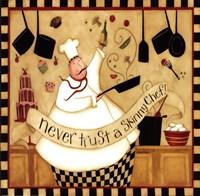Kitchen Favorites: Skinny Chef Fine-Art Print