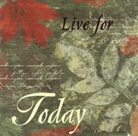 Pressed Leaf Today Fine-Art Print