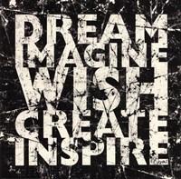 Marble Dream Wish Inspire Fine-Art Print