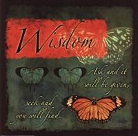 Butterfly Sentiments...Wisdom Fine-Art Print