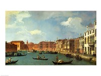 View of the Canal of Santa Chiara, Venice Fine-Art Print