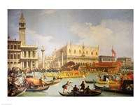 The Betrothal of the Venetian Doge to the Adriatic Sea Fine-Art Print