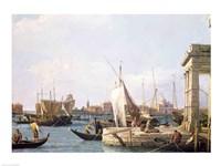 The Punta della Dogana, 1730 Fine-Art Print