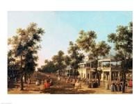 Vauxhall Gardens: the Grand Walk Fine-Art Print
