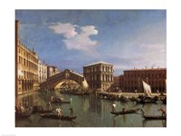 The Rialto Bridge, Venice Fine-Art Print