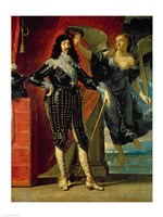 Louis XIII Crowned by Victory Fine-Art Print