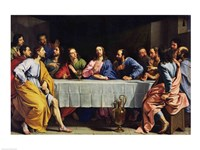 The Last Supper, 1648 Fine-Art Print