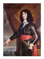 Portrait of Charles II Fine-Art Print