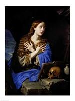 The Penitent Magdalene, 1657 Fine-Art Print