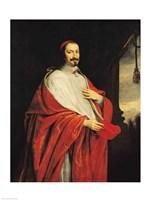 Portrait of Jules Mazarin Fine-Art Print