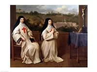 Two Nuns Fine-Art Print