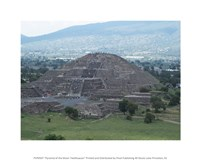 Pyramid of the Moon Teotihuacan Fine-Art Print