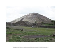 Pyramid of the Sun Fine-Art Print