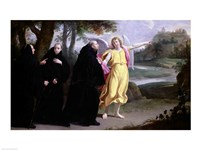 Scene from the Life of St. Benedict Fine-Art Print