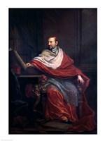 Cardinal Pierre de Berulle Fine-Art Print