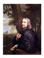 Portrait of Philippe de Champaigne, 1668 Fine-Art Print