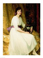 Portrait of Miss Dorothy Dicksee Fine-Art Print