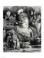 Pantagruel's meal Fine-Art Print