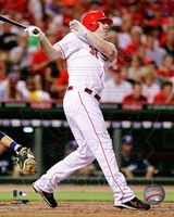Jay Bruce 2011 Action Fine-Art Print