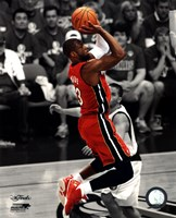 Dwyane Wade Game 3 of the 2011 NBA Finals Spotlight Action(#21) Fine-Art Print