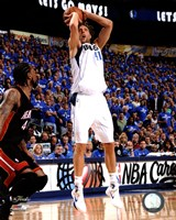 Dirk Nowitzki Game 5 of the 2011 NBA Finals Action(#22) Fine-Art Print