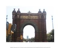 Barcelona Arc de Triomf Fine-Art Print