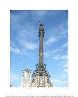 Columbus Column Barcelona Fine-Art Print