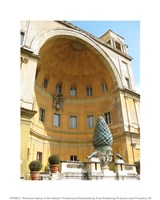 Pinecone Statue in the Vatican Fine-Art Print
