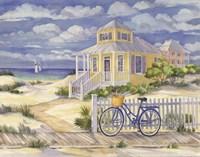 Beach Cruiser Cottage II Fine-Art Print