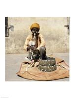 Snake Charmer Jaipur India Fine-Art Print